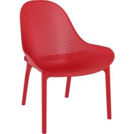 Stoel Outdoor Sky Lounge Rood