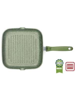 Risoli Grilpan Dr Green ind. 26x26cm