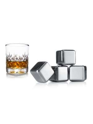 Vacu Vin Whisky stenen (Set 4)