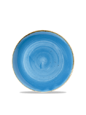 Kom blue Ø18,2 cm Stonecast Churchill