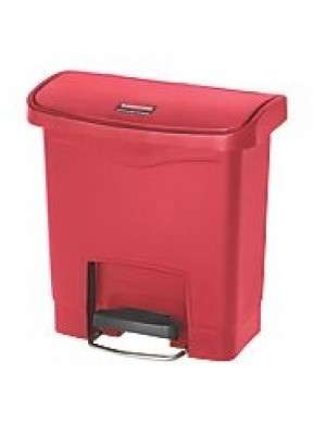 Vuilnisbak Slim Jim 15L Rood Rubbermaid