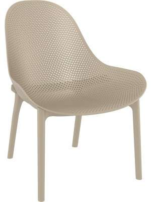 Stoel Outdoor Sky Lounge Taupe