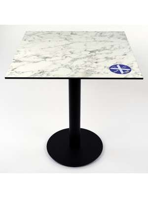 XSeat Tafelblad Compact Classic Marble 680x680