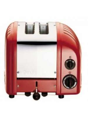 Dualit Toaster Classic 2gleuven Rood