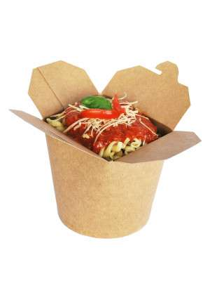 Take Away Noodle Box 450ml Kraft